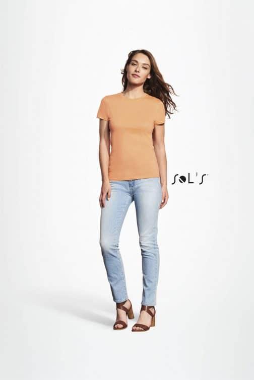 Klasikiniai moteriški marškinėliai