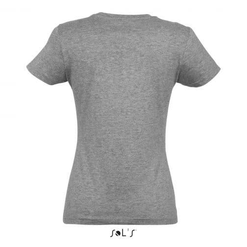 Moteriški marškinėliai nugara