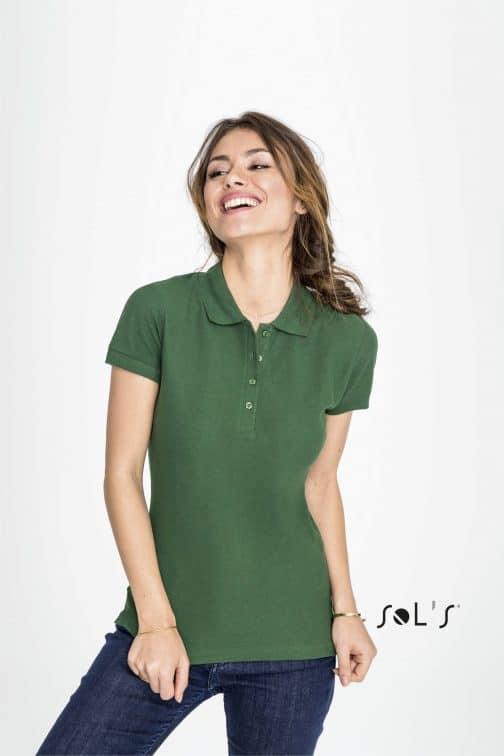 Polo moteriški marškinėliai 170