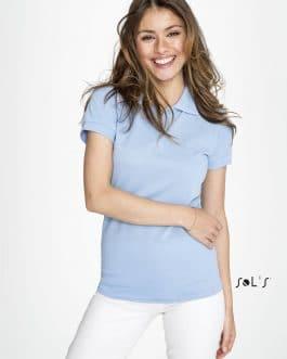Polo moteriški marškinėliai