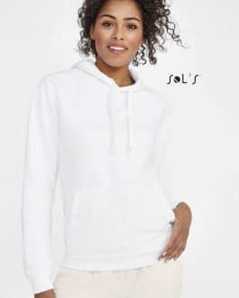 Moteriškas džemperis su gobtuvu (unisex)