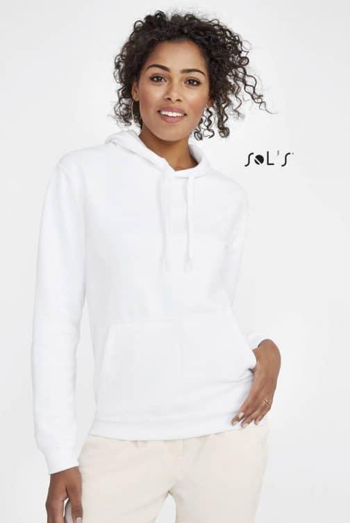 Džemperiai moterims su gobtuvu
