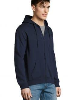 Vyriškas džemperis su užtrauktuku ir gobtuvu 290