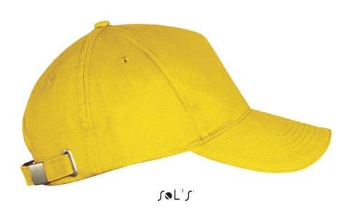 Kepuraitė su metaline sagtimi šonas