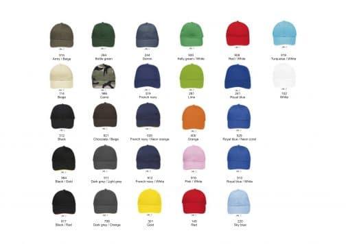 Kepuraitė su metaline sagtimi 260 spalvos