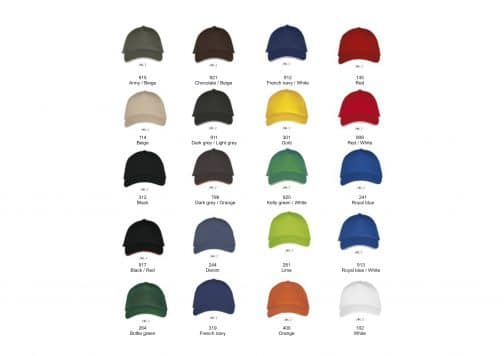 Kepuraitė su metaline sagtimi spalvos