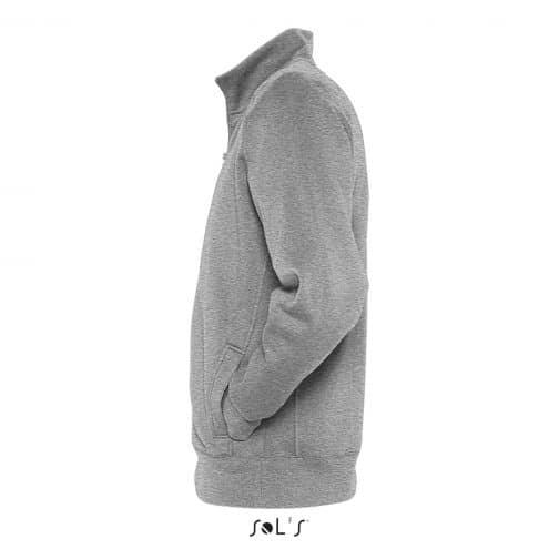 Vyriškas džemperis su užtrauktuku šonas