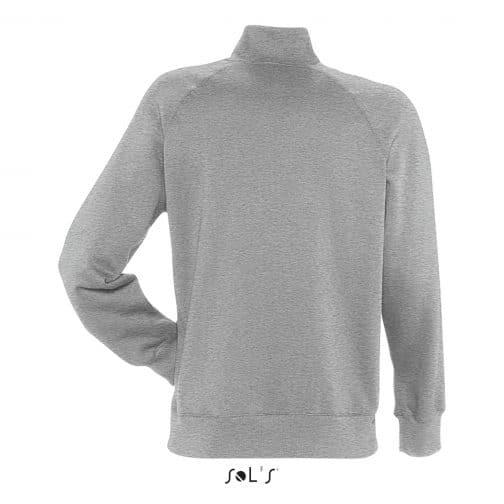 Vyriškas džemperis su užtrauktuku nugara
