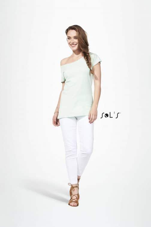 Moteriški ilgi marškinėliai