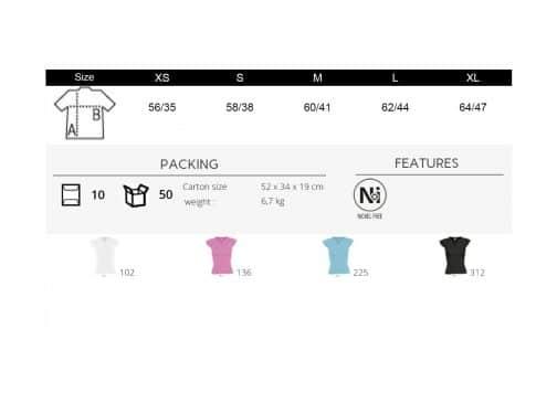 Moteriški marškinėliai madinga apykakle spalvos
