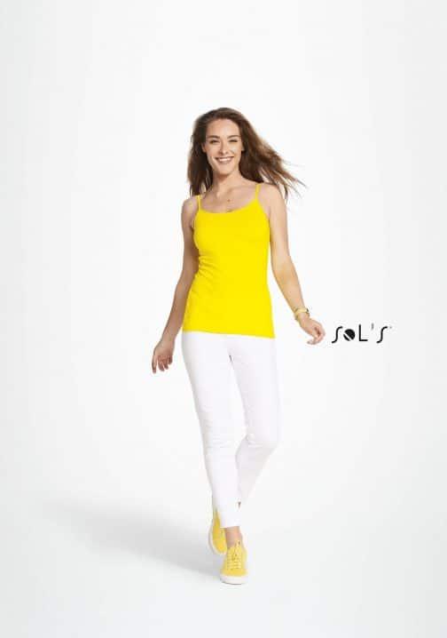 Moteriški marškinėliai su petnešėlėmis