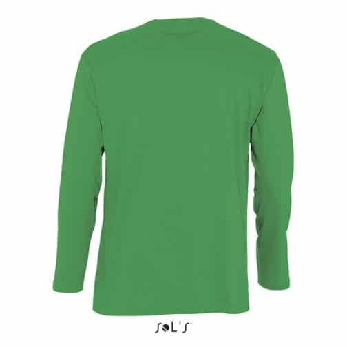 Vyriški marškinėliai ilgomis rankovėmis nugara