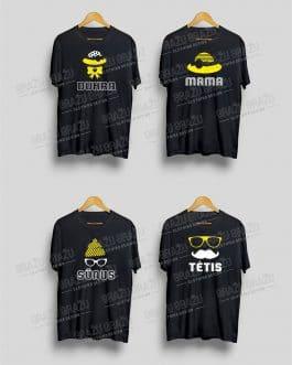 Šeimos marškinėliai Rūbai