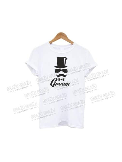 Bernvakario marškinėliai Groom