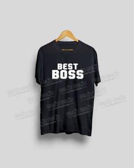 """Marškinėliai bosui """"Best Boss"""""""