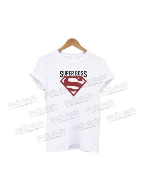 Boso marškinėliai Super Boss