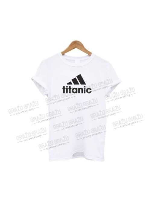 Juokingi marškinėliai Titanic