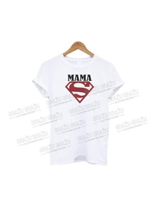 Mamos marškinėliai Super Mama