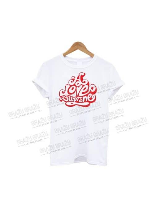 Meilės marškinėliai A Love supreme