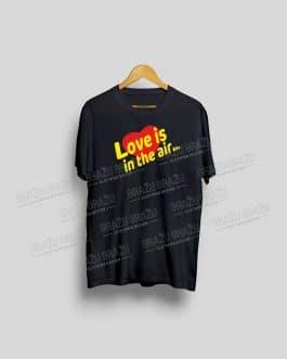 """Marškinėliai Valentino dienai """"Love is"""""""