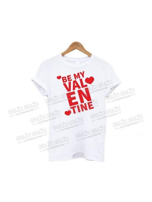 Meilės marskineliai Be my Valentine