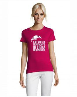 Mergvakario marškinėliai