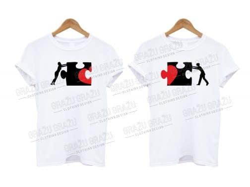 Porų marškinėliai Puzzle