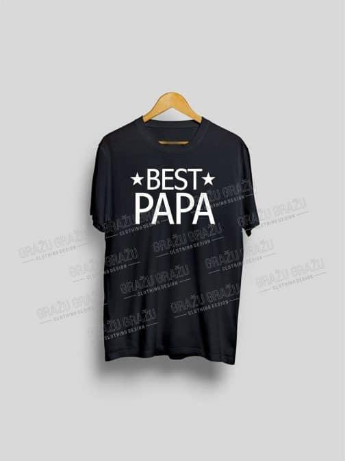 Tėčio marškinėliai Best Papa