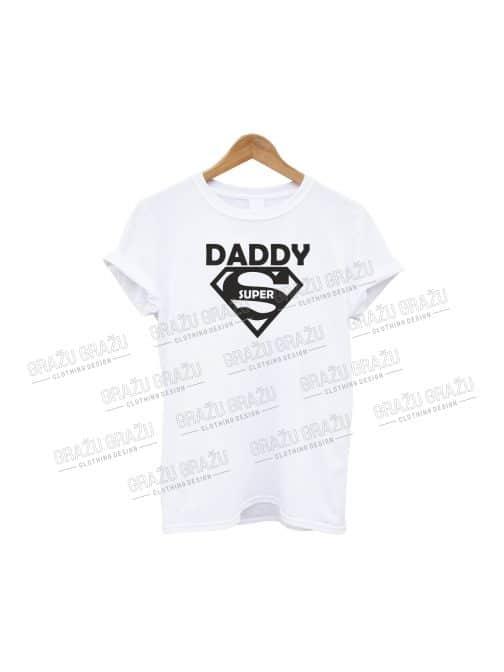 Tėčio marškinėliai Super Daddy