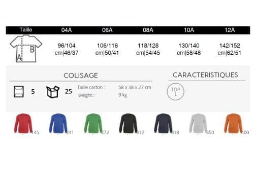 Vaikiški džemperiai spalvos