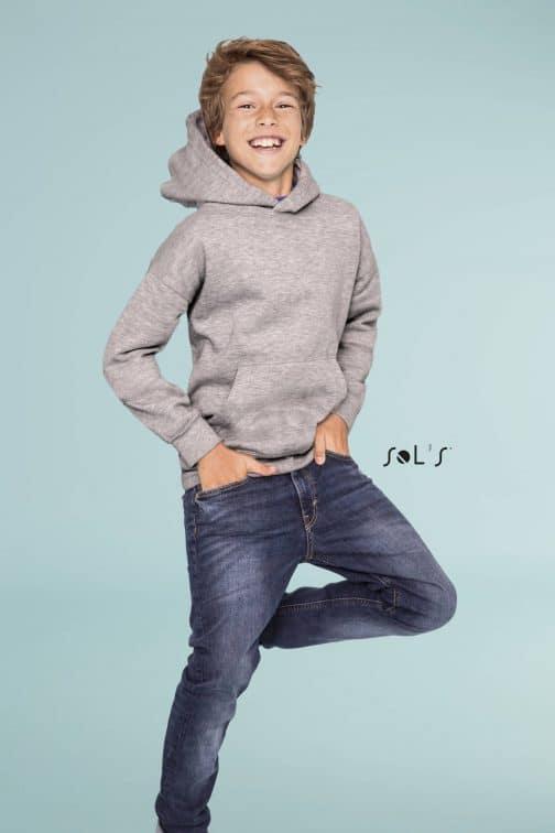 Vaikiški džemperiai su gobtuvu
