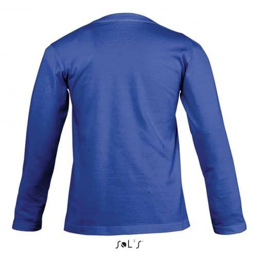 Vaikiški marškinėliai ilgomis rankovėmis nugara