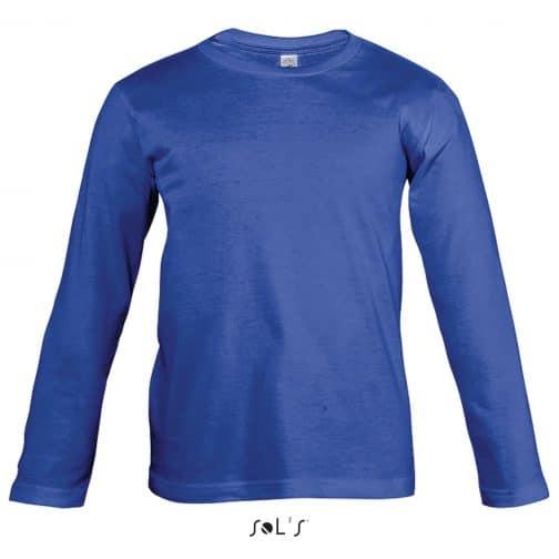 Vaikiški marškinėliai ilgomis rankovėmis priekis