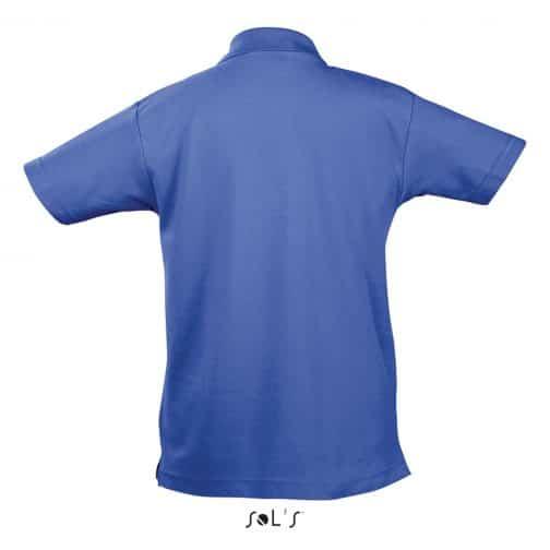 Vaikiški polo marškinėliai nugara