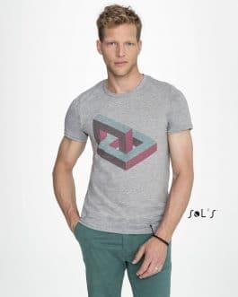 Vyriški sublimaciniai marškinėliai