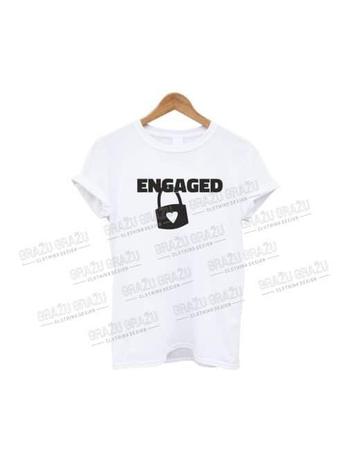 Bernvakario marškinėliai Engaged