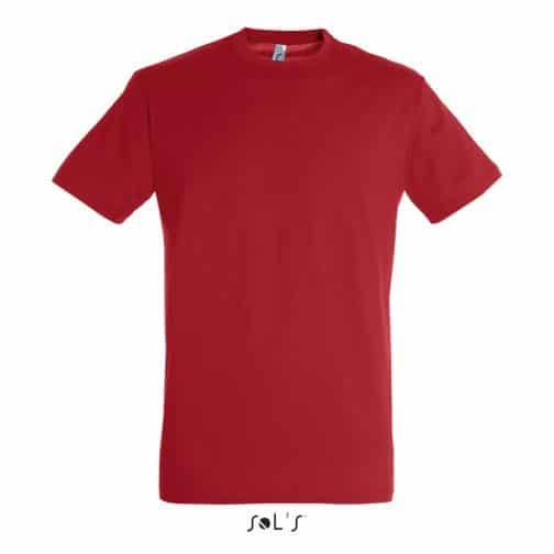 Marškinėliai raudoni priekis