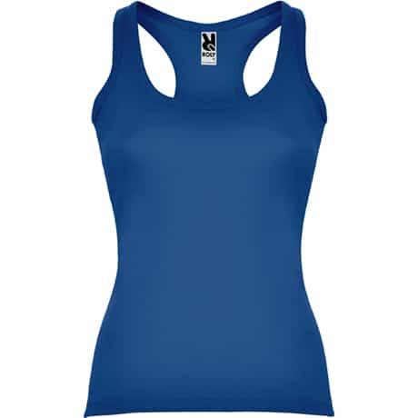 Moteriški berankoviai marškinėliai mėlyni