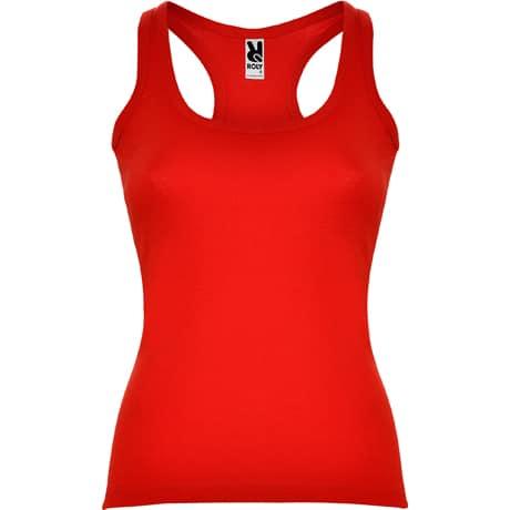 Moteriški berankoviai marškinėliai raudoni