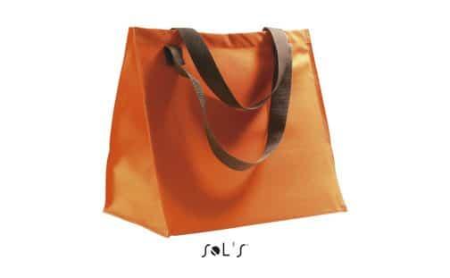 Poliesterinis pirkinių krepšys oranžinis