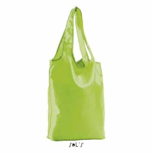 Sulankstomas krepšys žalias