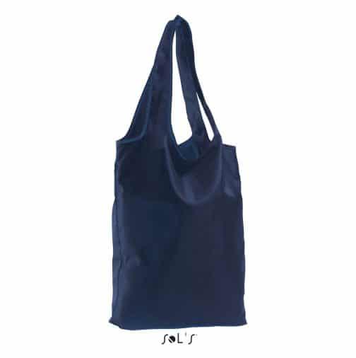 Sulankstomas krepšys mėlynas