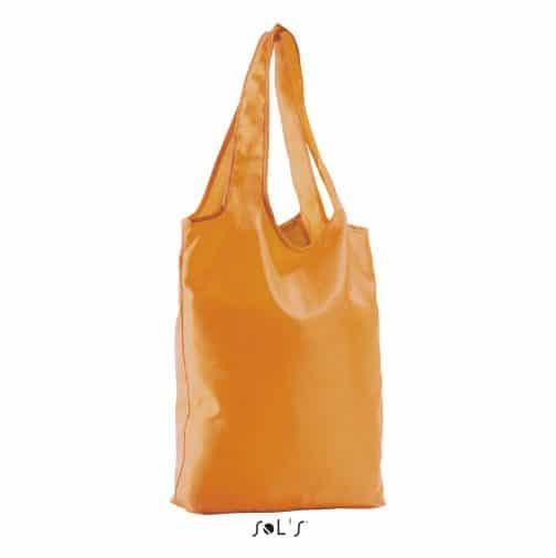 Sulankstomas krepšys oranžinis