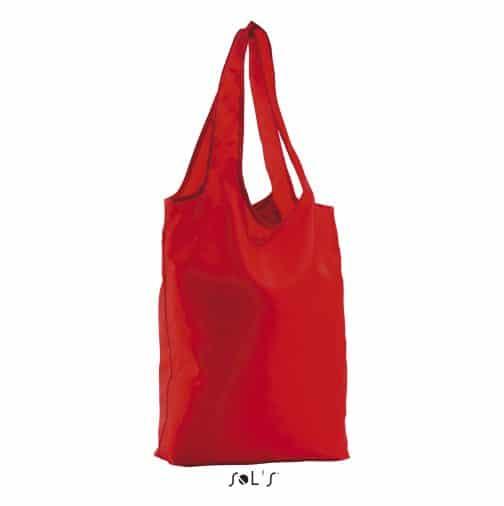 Sulankstomas krepšys raudonas