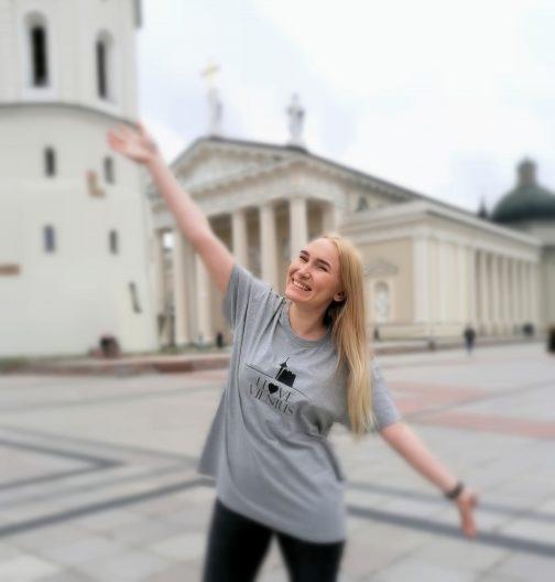 I love Vilnius