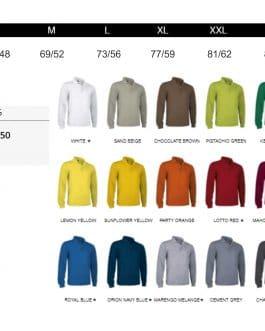 Moteriški polo marškinėliai ilgomis rankovėmis (unisex) (30vnt.)