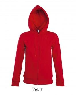 Moteriškas džemperis su gobtuvu ir užtrauktuku (unisex)