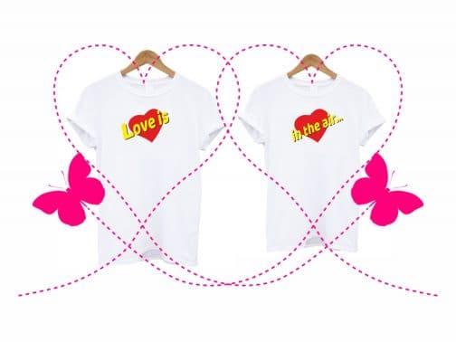 Marškinėliai Valentino dienai