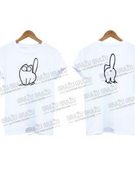 """Marškinėliai """"Simon's Cat bum"""""""