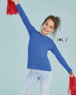 Marškinėliai ilgomis rankovėmis vaikams